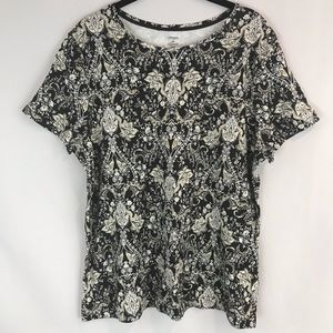 Croft&Barrow the classic tee XXL Floral Paisley